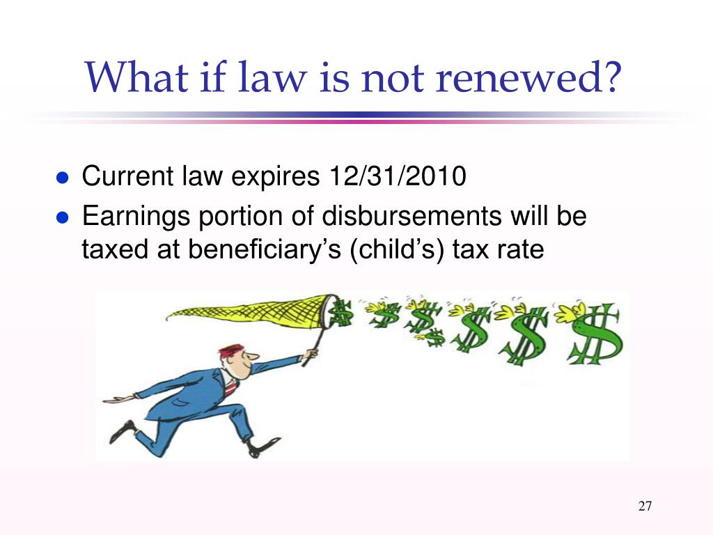 What if law is not renewed?