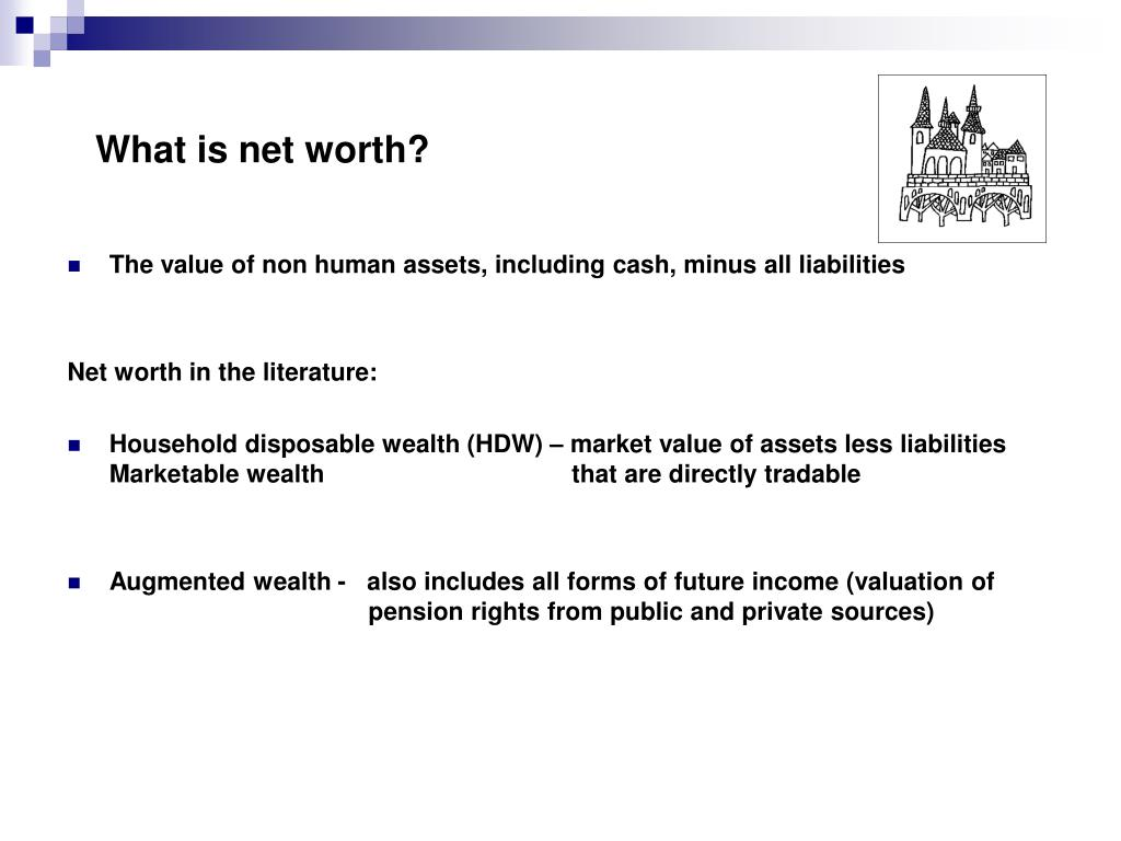 What is net worth?
