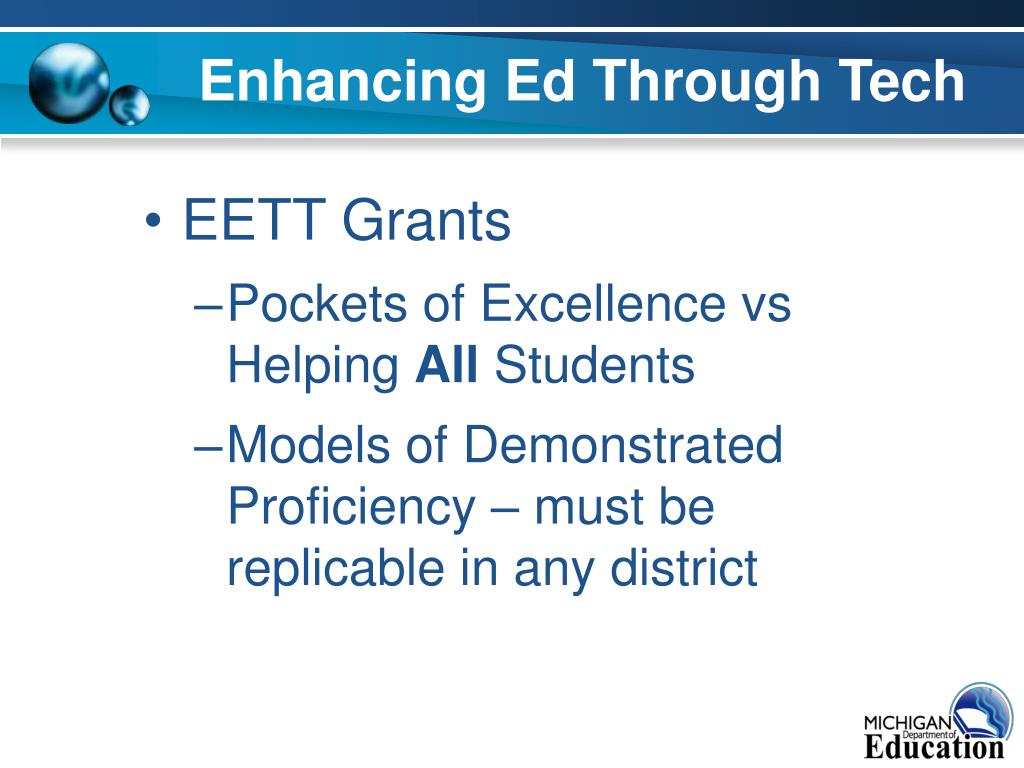 Enhancing Ed Through Tech