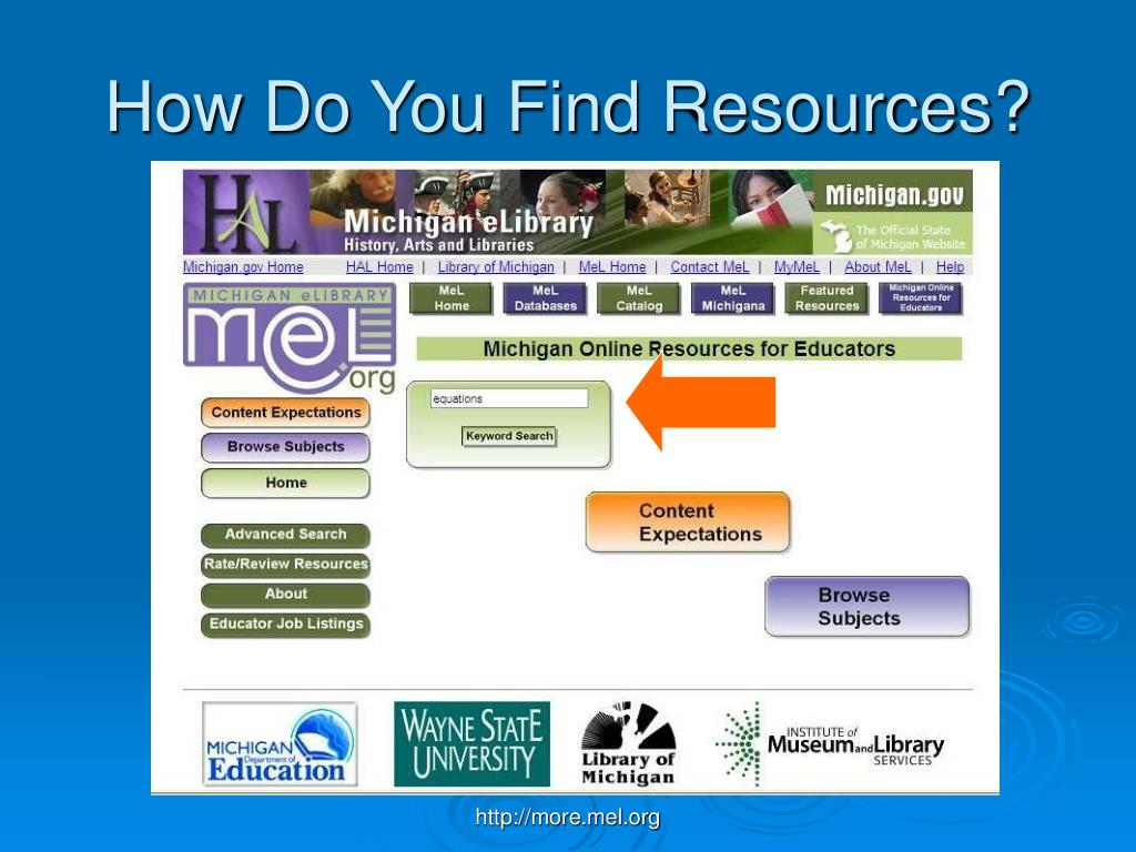 How Do You Find Resources?