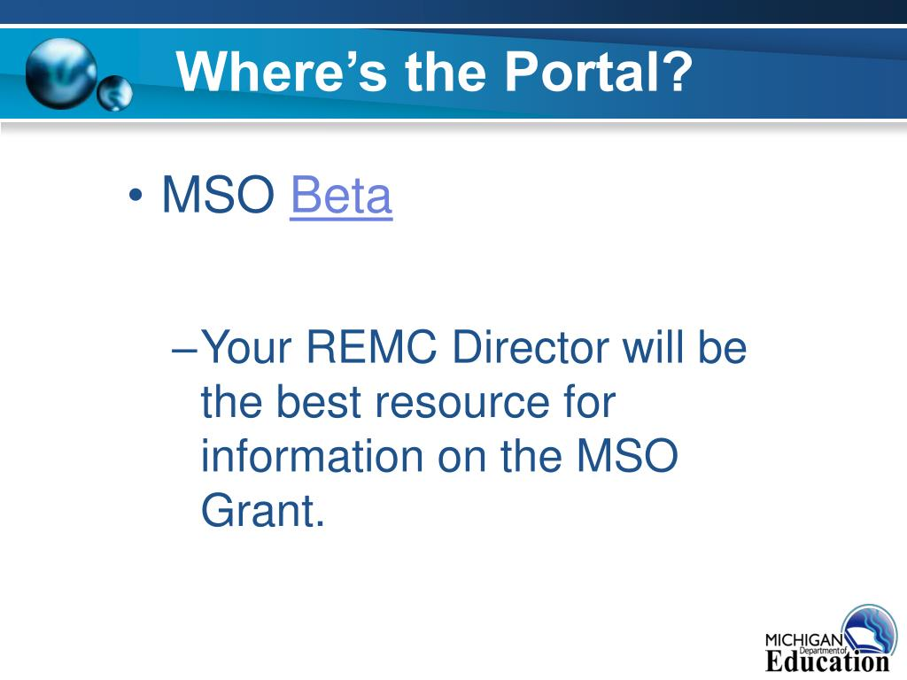 Where's the Portal?