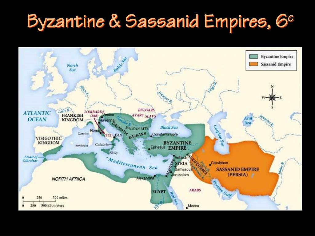 Byzantine & Sassanid Empires, 6