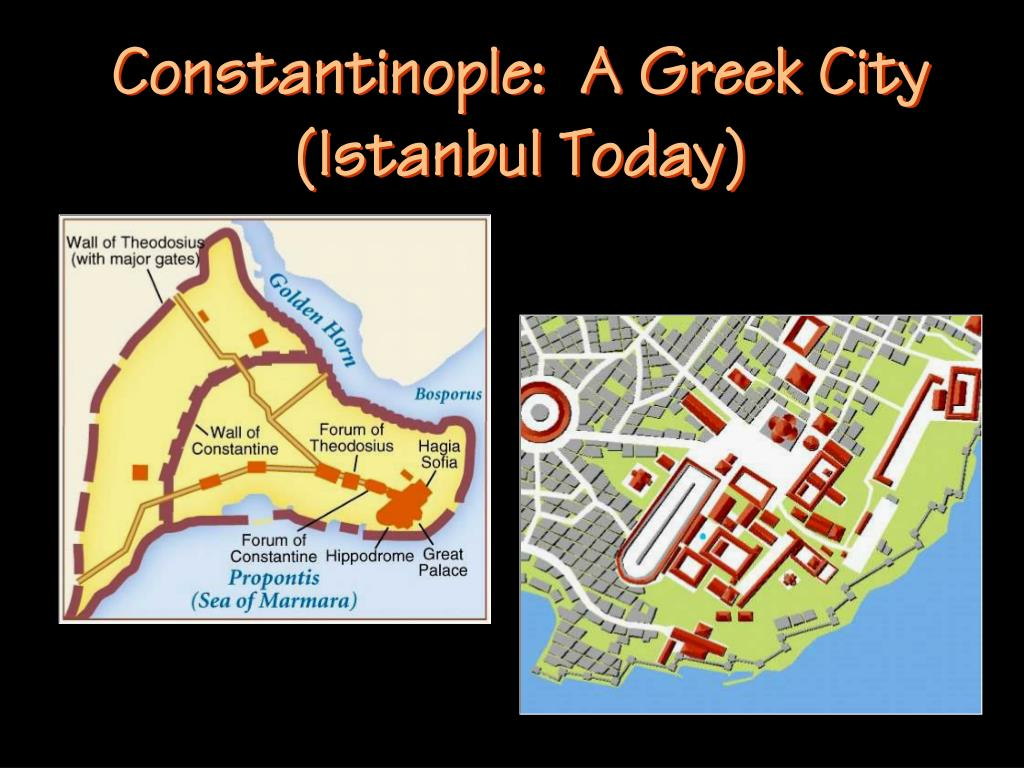 Constantinople:  A Greek City