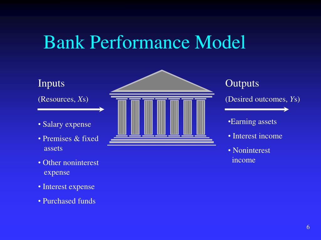 bank performance The uniform bank performance report is designed to be used by bank examiners and bank management evaluating the financial condition of banks by analyzing the data contained in the ubpr, the user can.