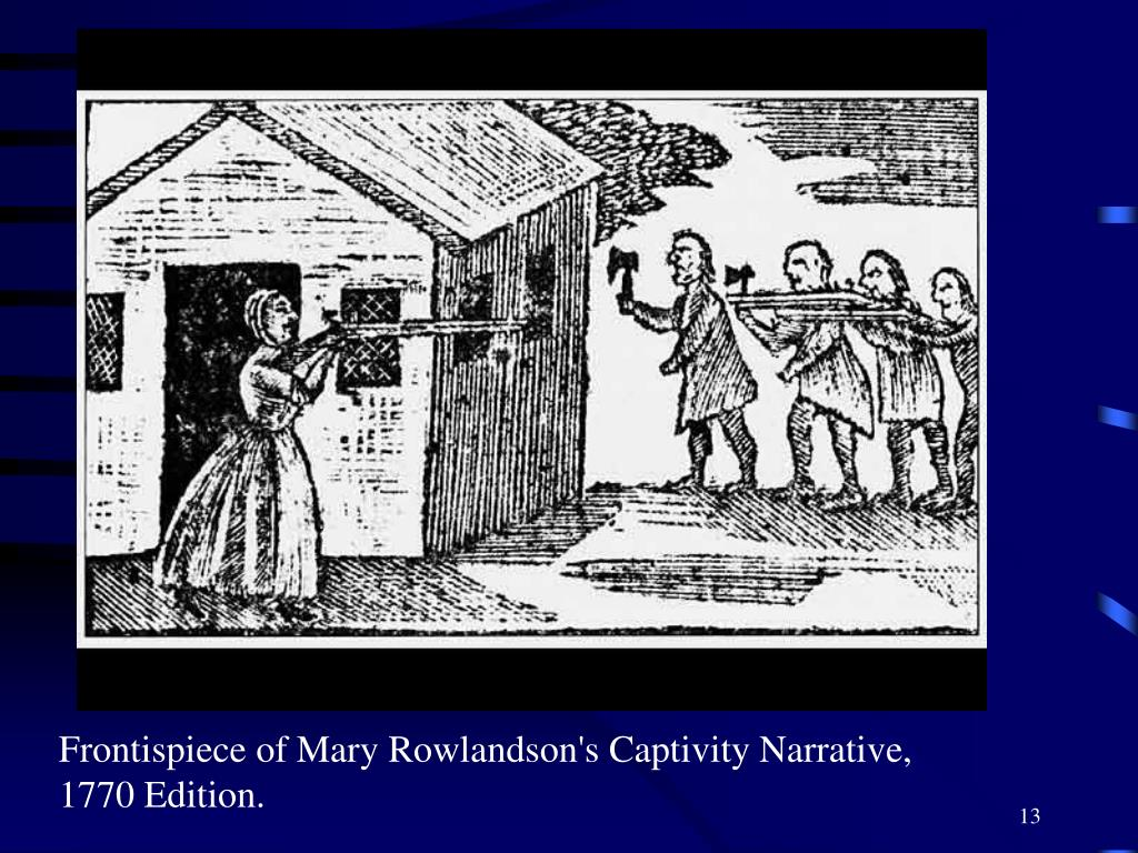 the faith of mary rowlandson Free term papers & essays - a narrative of the captivity and restoration of mrs mary rowlandson, s.