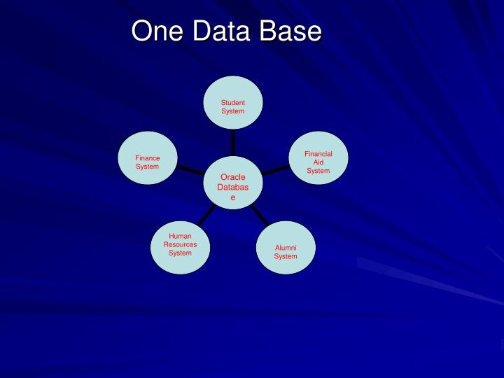 One data base