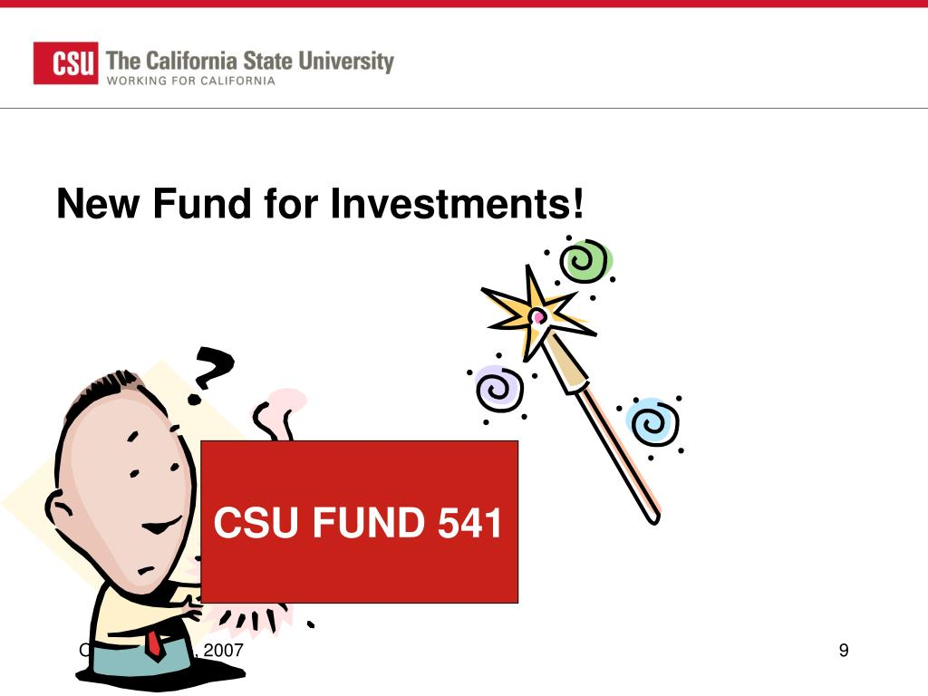 New Fund for Investments!