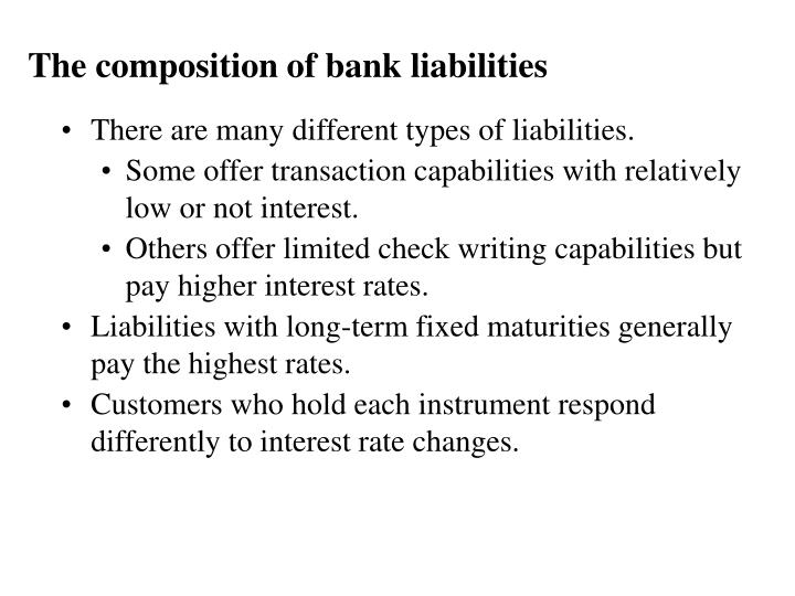 The composition of bank liabilities l.jpg