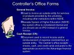 controller s office forms