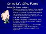 controller s office forms39