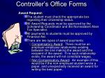 controller s office forms40