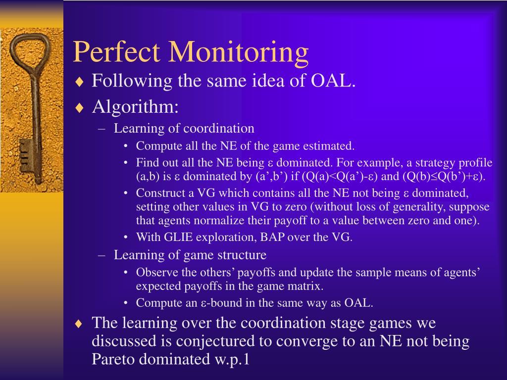 Perfect Monitoring
