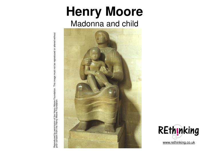 Henry moore madonna and child