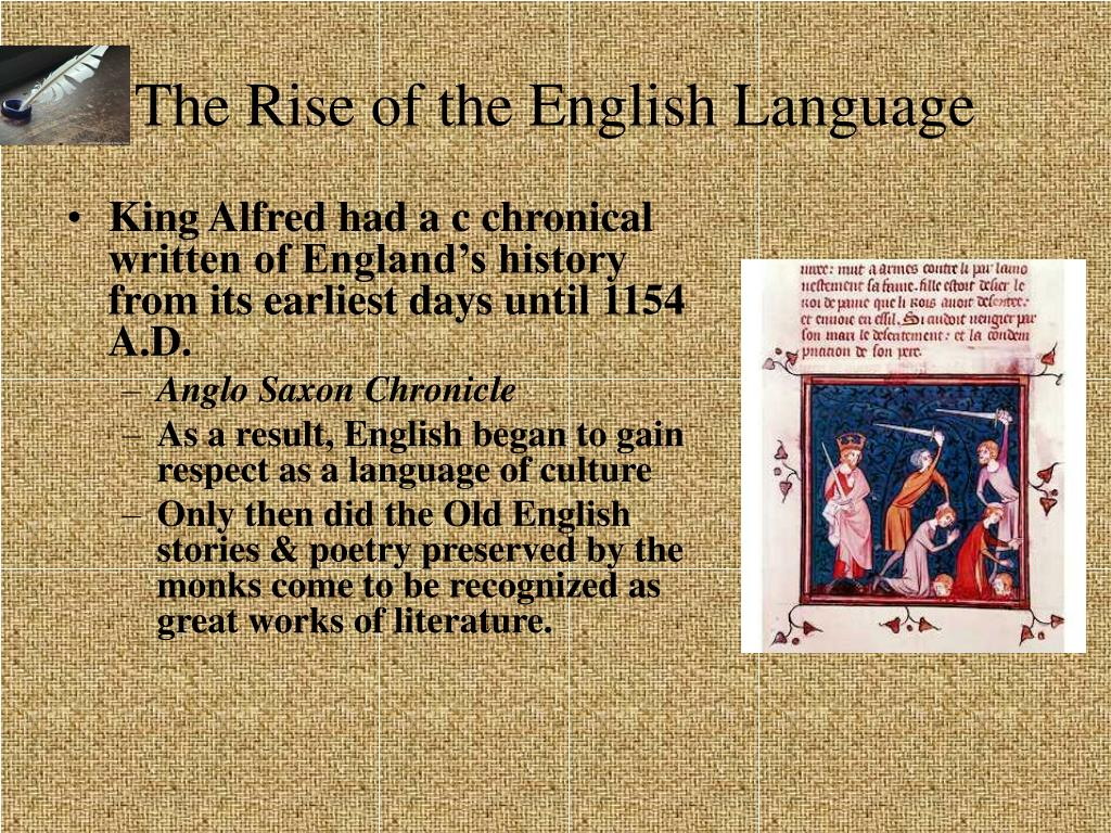 the study of the english language throughout history By study international staff | december 8, 2016 3634  according to the harvard  review, english is the fastest spreading language in human history not only.
