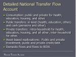 detailed national transfer flow account