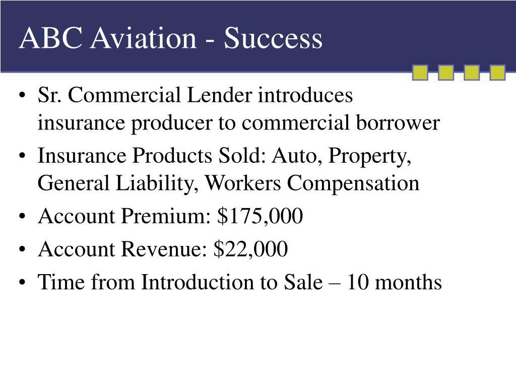 ABC Aviation - Success