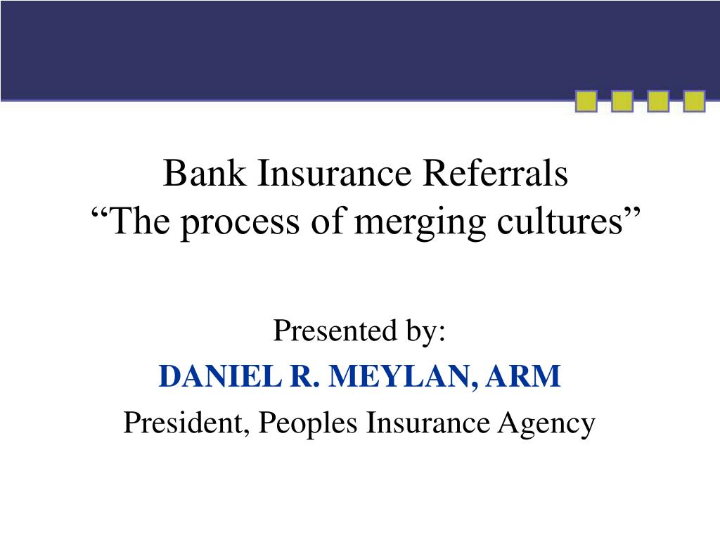 Bank Insurance Referrals