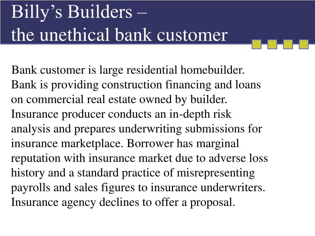 Billy's Builders –