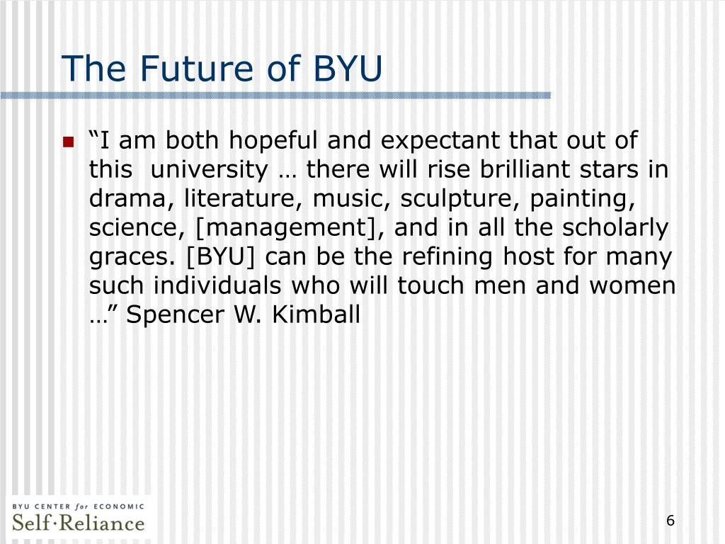 The Future of BYU