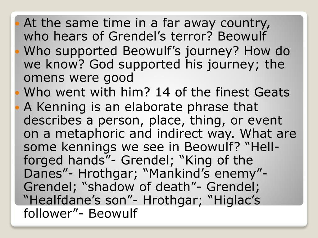 a personal review of the epic of beowulf Foreshadowing the funeral of shield sheafson, with which the poem opens, foreshadows beowulf's funeral at the poem's end the story of sigemund told by the scop, or bard, foreshadows beowulf's fight with the dragon the story of king heremod foreshadows beowulf's eventual ascendancy to kingship.