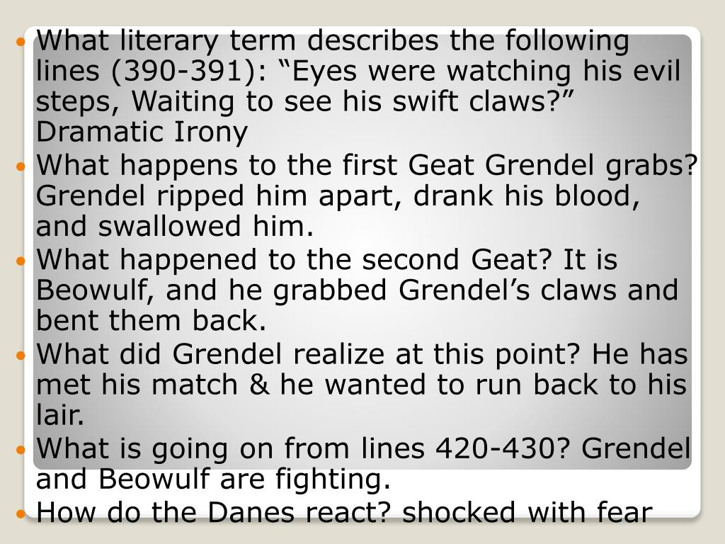 a review of burton raffels translation of beowulf Unlike most editing & proofreading services, we edit for everything: grammar, spelling, punctuation, idea flow, sentence structure, & more get started now.