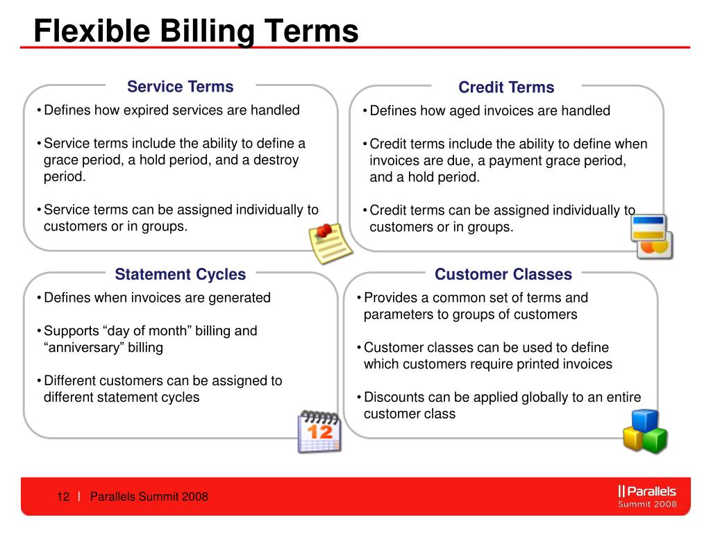 Flexible Billing Terms