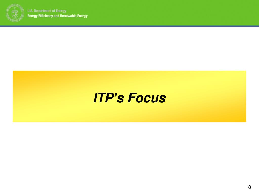 ITP's Focus