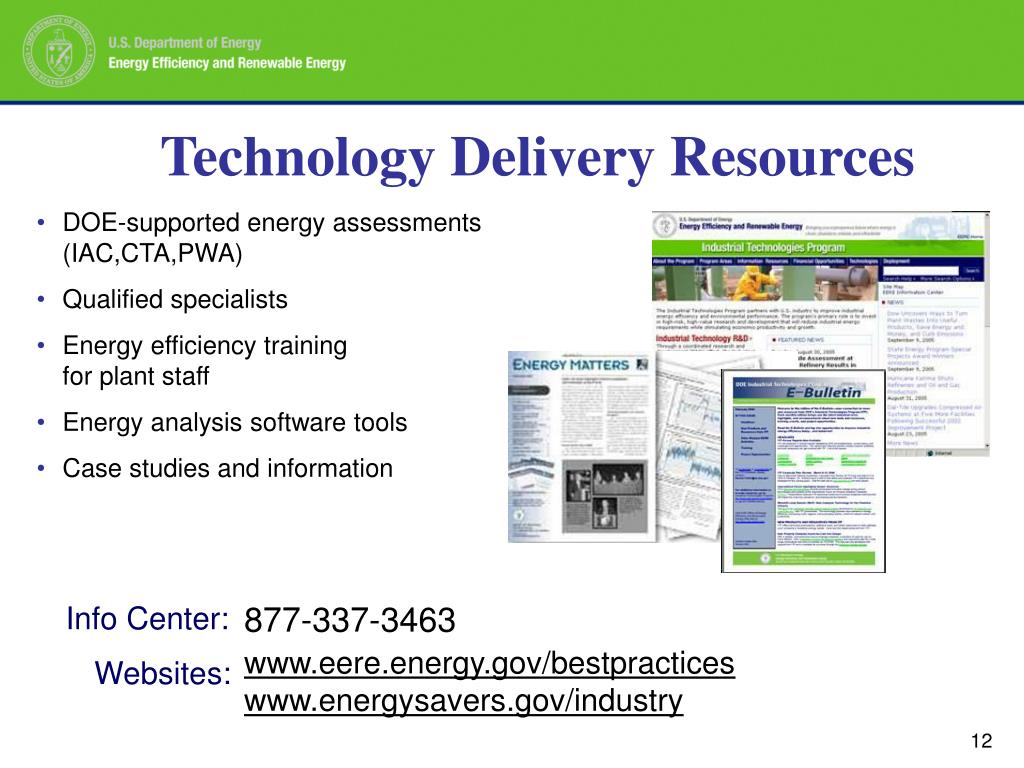 Technology Delivery Resources