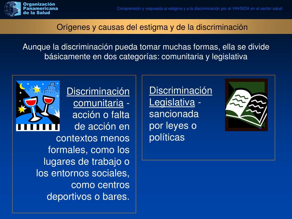 Discriminación