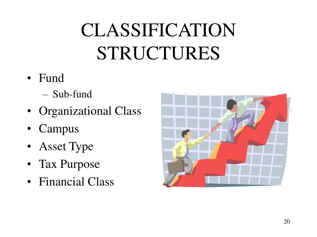 CLASSIFICATION STRUCTURES