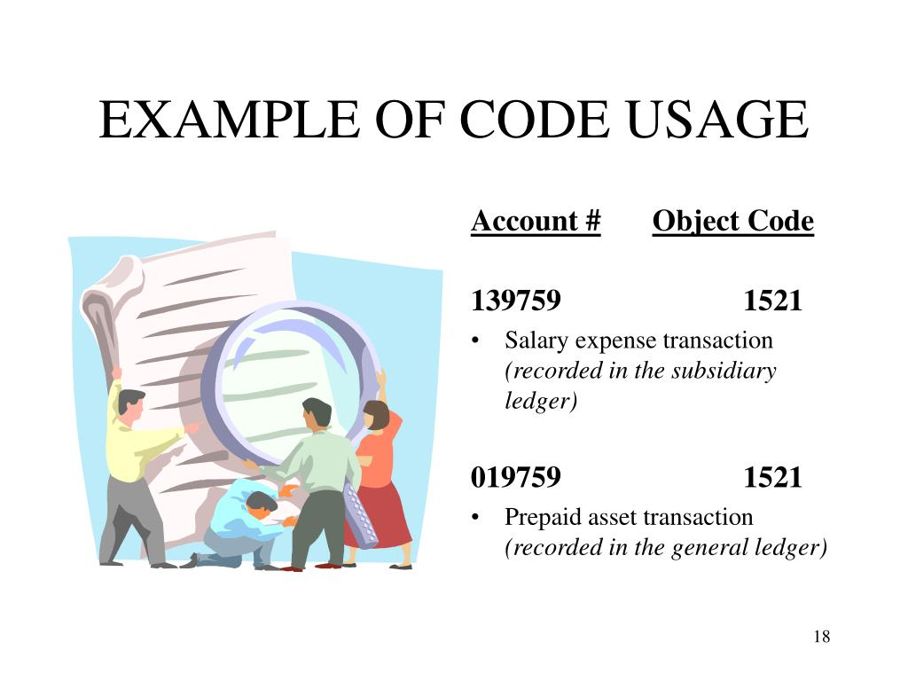 EXAMPLE OF CODE USAGE