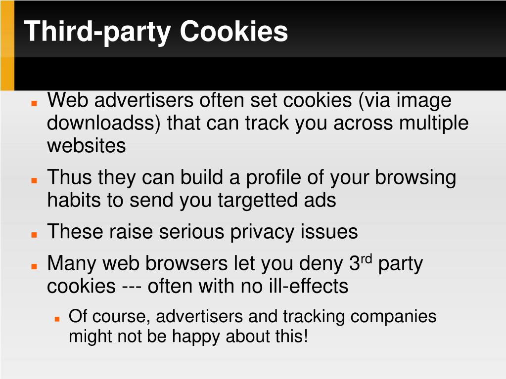 Third-party Cookies
