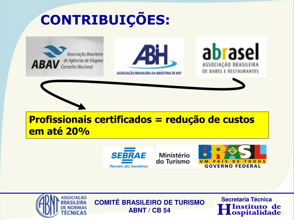 Profissionais certificados = redução de custos em até 20%