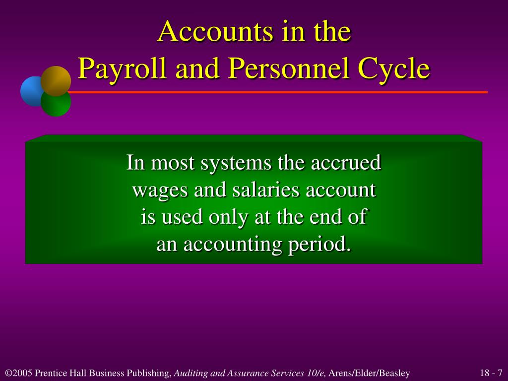 Accounts in the