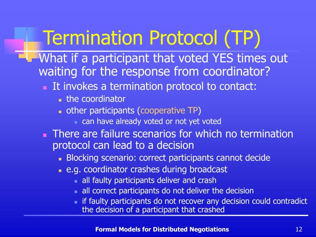 Termination Protocol (TP)