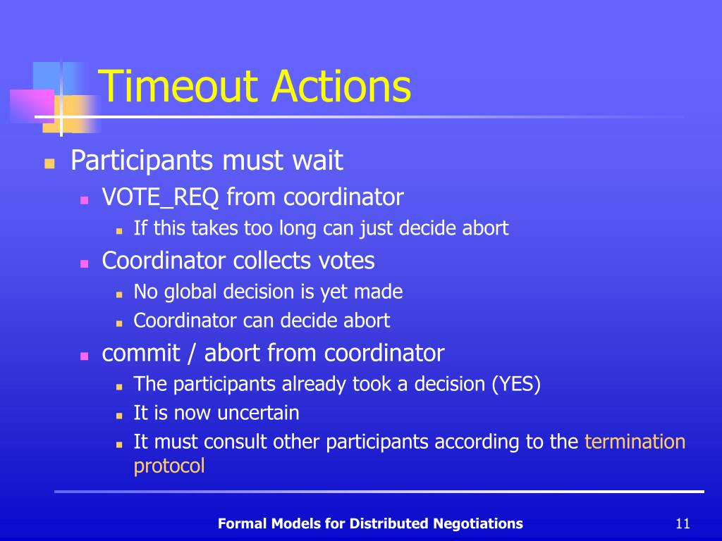 Timeout Actions