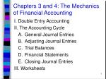 chapters 3 and 4 the mechanics of financial accounting