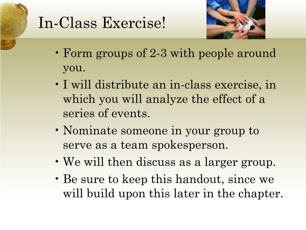 In-Class Exercise!