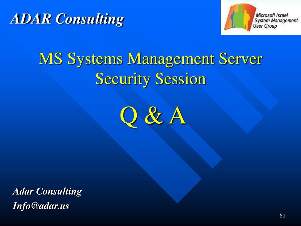 ADAR Consulting