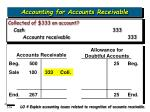accounting for accounts receivable19
