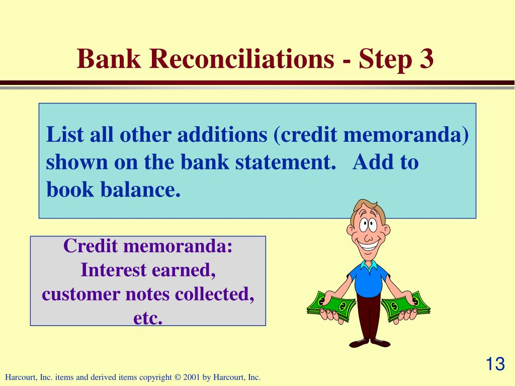 Bank Reconciliations - Step 3