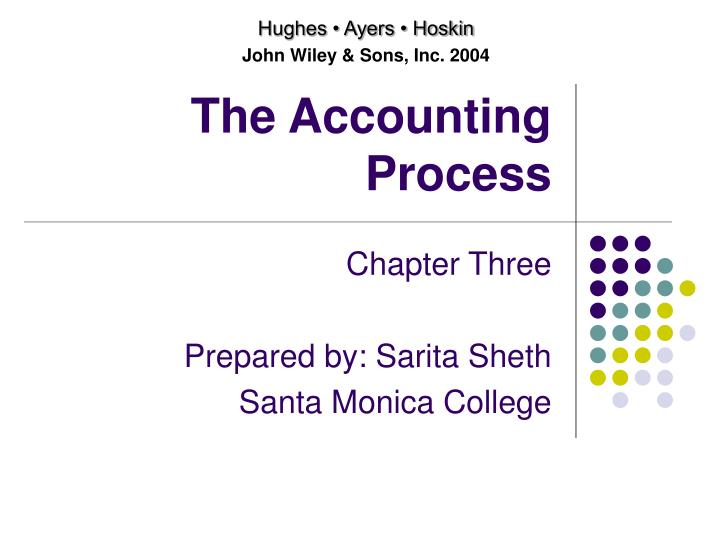 The accounting process l.jpg