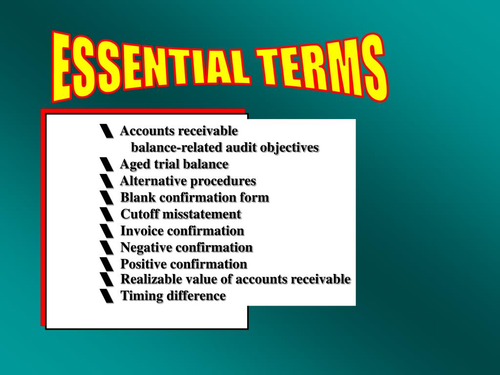 ESSENTIAL TERMS