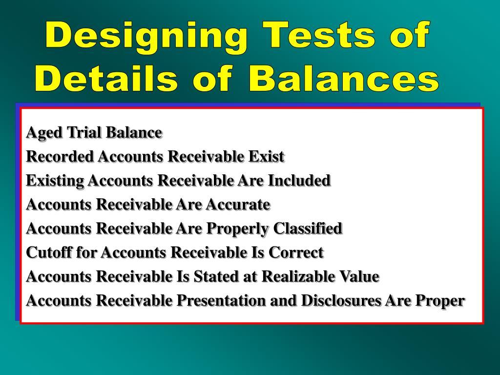 Designing Tests of