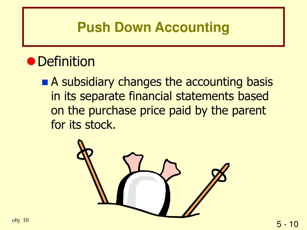 Push Down Accounting