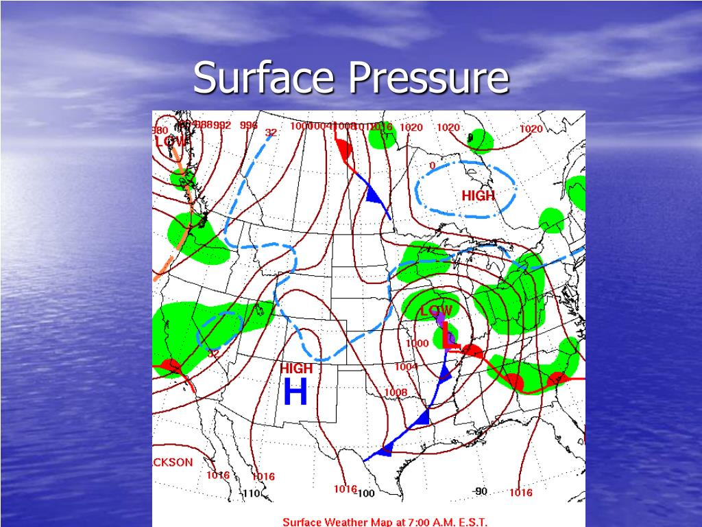 Surface Pressure