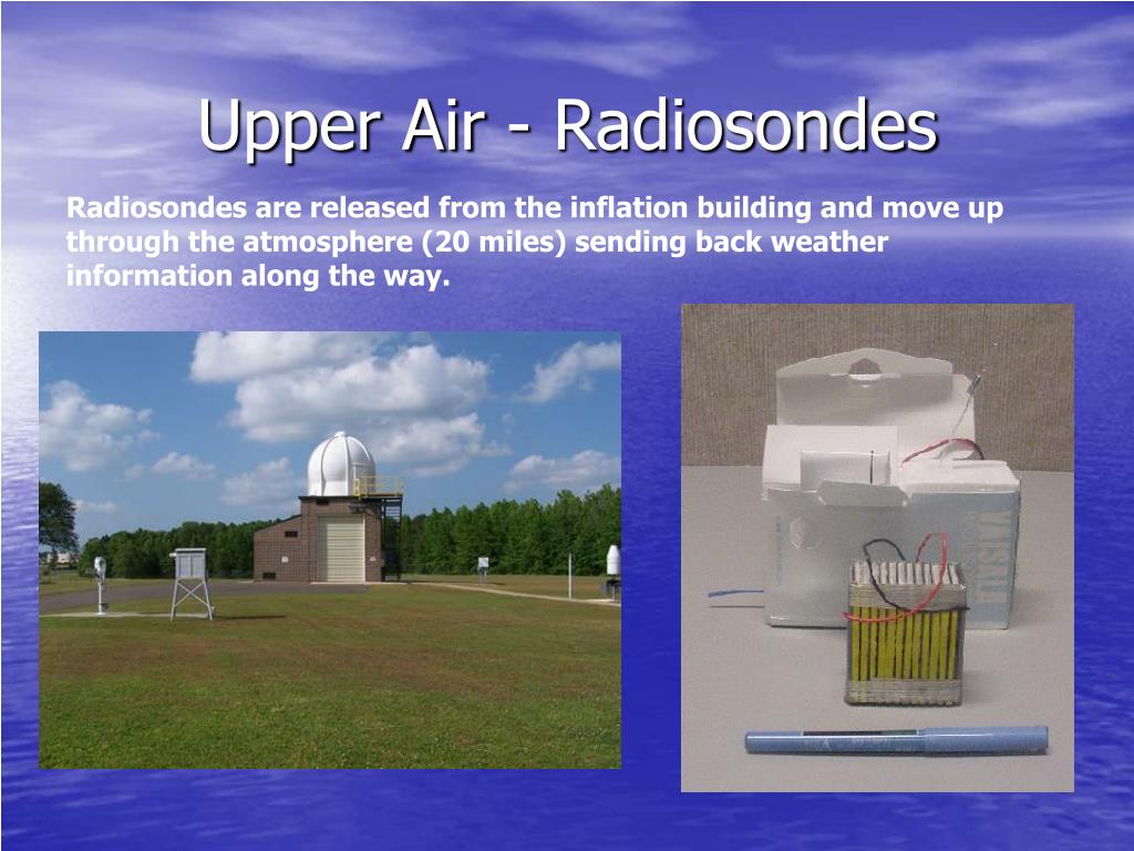 Upper Air - Radiosondes