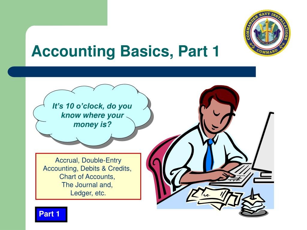 Accounting Basics, Part 1