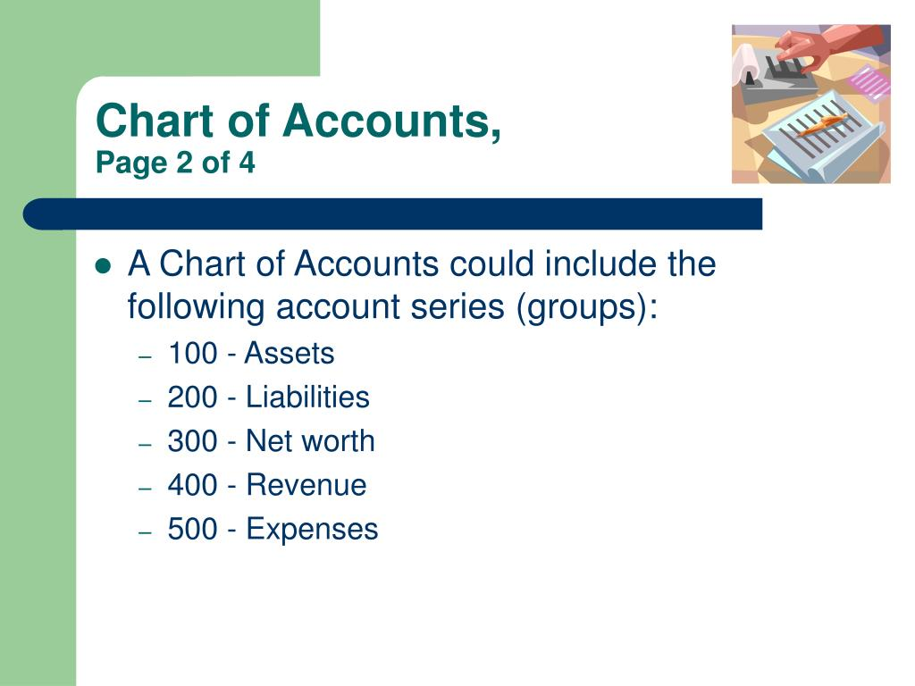 Chart of Accounts,