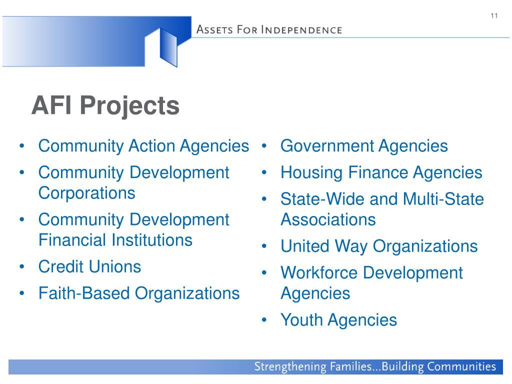 Community Action Agencies